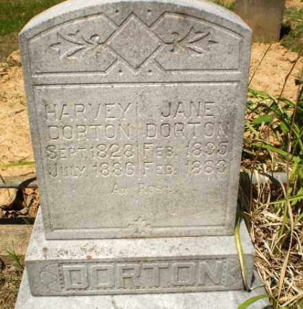 DORTON, JANE - Craighead County, Arkansas | JANE DORTON - Arkansas Gravestone Photos