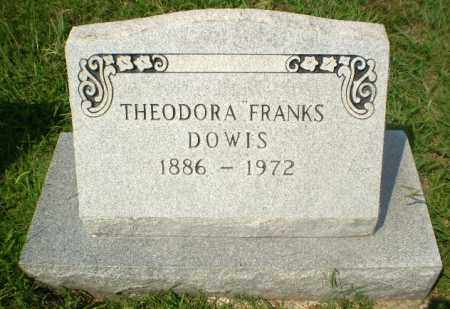 FRANKS DOWIS, THEODORA - Craighead County, Arkansas | THEODORA FRANKS DOWIS - Arkansas Gravestone Photos