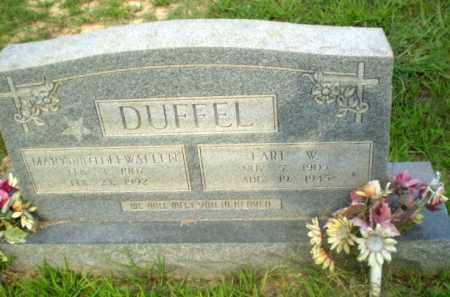 DUFFEL WALLEN, MARY - Craighead County, Arkansas | MARY DUFFEL WALLEN - Arkansas Gravestone Photos