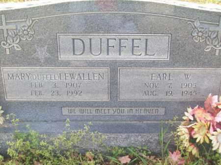 LEWALLEN DUFFEL, MARY - Craighead County, Arkansas | MARY LEWALLEN DUFFEL - Arkansas Gravestone Photos