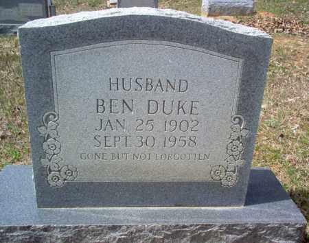 DUKE, BEN - Craighead County, Arkansas   BEN DUKE - Arkansas Gravestone Photos