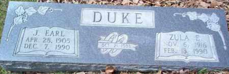 DUKE, ZULA E - Craighead County, Arkansas | ZULA E DUKE - Arkansas Gravestone Photos