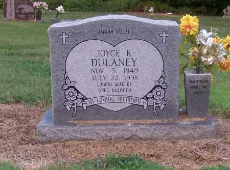 DULANEY, JOYCE K. - Craighead County, Arkansas | JOYCE K. DULANEY - Arkansas Gravestone Photos