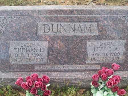 GUEST DUNNAM, LEFFIE ARDELLA - Craighead County, Arkansas | LEFFIE ARDELLA GUEST DUNNAM - Arkansas Gravestone Photos