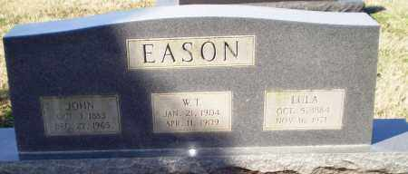 EASON, W T - Craighead County, Arkansas | W T EASON - Arkansas Gravestone Photos
