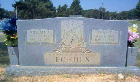 ECHOLS, LENA E - Craighead County, Arkansas | LENA E ECHOLS - Arkansas Gravestone Photos