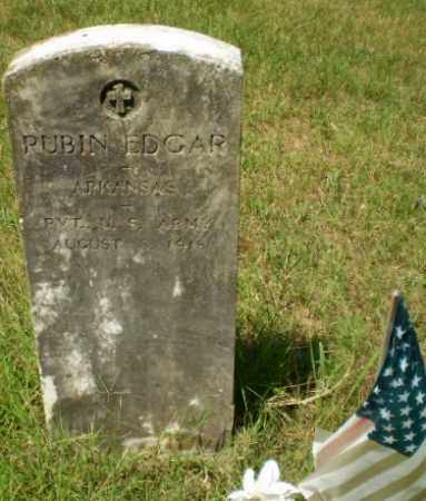 EDGAR  (VETERAN), RUBIN - Craighead County, Arkansas | RUBIN EDGAR  (VETERAN) - Arkansas Gravestone Photos