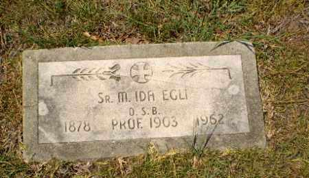 EGLI, SISTER M. IDA - Craighead County, Arkansas   SISTER M. IDA EGLI - Arkansas Gravestone Photos