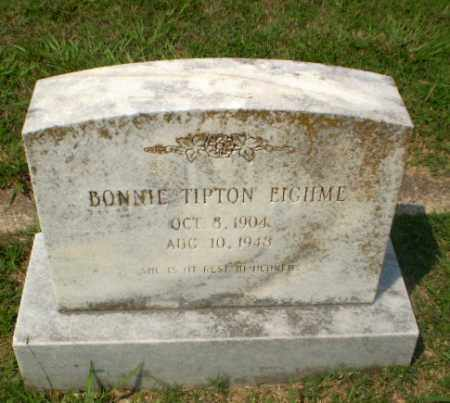 TIPTON EIGHME, BONNIE - Craighead County, Arkansas | BONNIE TIPTON EIGHME - Arkansas Gravestone Photos