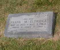 ELDRIDGE, FRANK M. - Craighead County, Arkansas | FRANK M. ELDRIDGE - Arkansas Gravestone Photos