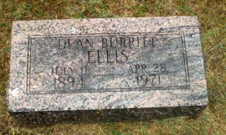 ELLIS, DEAN BURRITT - Craighead County, Arkansas | DEAN BURRITT ELLIS - Arkansas Gravestone Photos