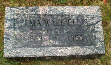 WALL ELLIS, ELMA - Craighead County, Arkansas | ELMA WALL ELLIS - Arkansas Gravestone Photos