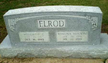 HINSON ELROD, WINONA - Craighead County, Arkansas | WINONA HINSON ELROD - Arkansas Gravestone Photos