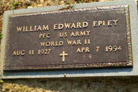 EPLEY  (VETERAN WWII), WILLIAM EDWARD - Craighead County, Arkansas | WILLIAM EDWARD EPLEY  (VETERAN WWII) - Arkansas Gravestone Photos