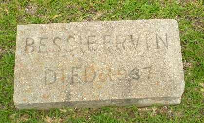 ERVIN, BESSIE - Craighead County, Arkansas | BESSIE ERVIN - Arkansas Gravestone Photos