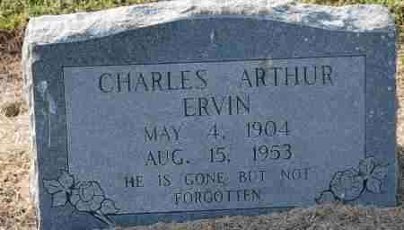 ERVIN, CHARLES ARTHUR - Craighead County, Arkansas   CHARLES ARTHUR ERVIN - Arkansas Gravestone Photos