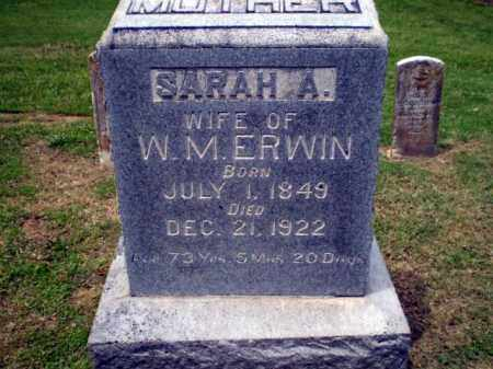 ERWIN, SARAH - Craighead County, Arkansas | SARAH ERWIN - Arkansas Gravestone Photos