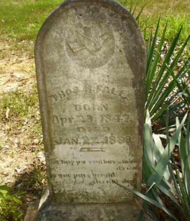 FALLS, THOS H - Craighead County, Arkansas | THOS H FALLS - Arkansas Gravestone Photos