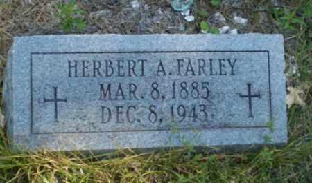 FARLEY, HERBERT A - Craighead County, Arkansas   HERBERT A FARLEY - Arkansas Gravestone Photos