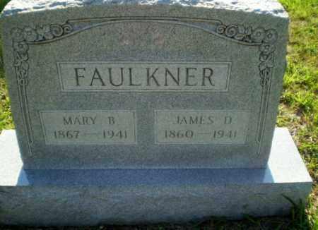 FAULKNER, JAMES D - Craighead County, Arkansas | JAMES D FAULKNER - Arkansas Gravestone Photos