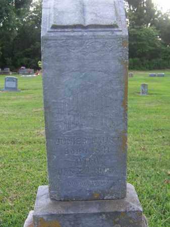 FAUST, JUNIER - Craighead County, Arkansas | JUNIER FAUST - Arkansas Gravestone Photos