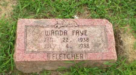 FLETCHER, WANDA FAYE - Craighead County, Arkansas   WANDA FAYE FLETCHER - Arkansas Gravestone Photos