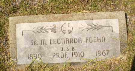 FOEHN, SISTER M. LEONARDA - Craighead County, Arkansas | SISTER M. LEONARDA FOEHN - Arkansas Gravestone Photos