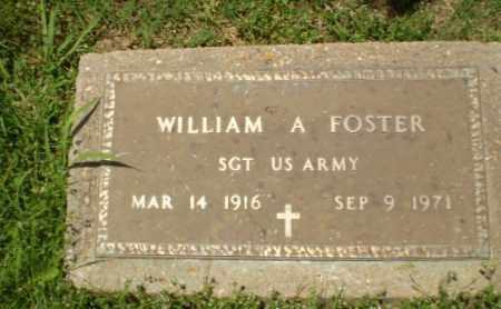 FOSTER  (VETERAN), WILLIAM A - Craighead County, Arkansas | WILLIAM A FOSTER  (VETERAN) - Arkansas Gravestone Photos
