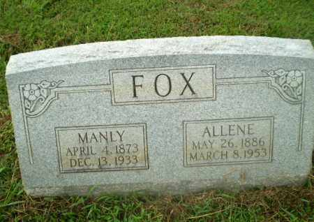 FOX, ALLENE - Craighead County, Arkansas | ALLENE FOX - Arkansas Gravestone Photos