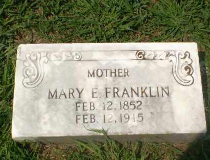 FRANKLIN, MARY E - Craighead County, Arkansas   MARY E FRANKLIN - Arkansas Gravestone Photos