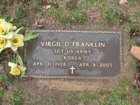 FRANKLIN (VETERAN KOR), VIRGIL D - Craighead County, Arkansas | VIRGIL D FRANKLIN (VETERAN KOR) - Arkansas Gravestone Photos