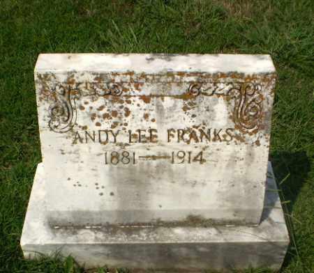FRANKS, ANDY LEE - Craighead County, Arkansas | ANDY LEE FRANKS - Arkansas Gravestone Photos