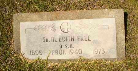 FREE, SISTER M. EDITH - Craighead County, Arkansas   SISTER M. EDITH FREE - Arkansas Gravestone Photos