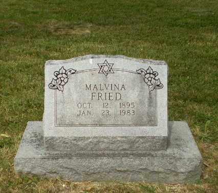 FRIED, MALVINA - Craighead County, Arkansas | MALVINA FRIED - Arkansas Gravestone Photos