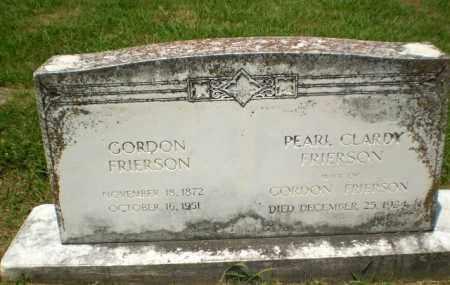 CLARDY FRIERSON, PEARL - Craighead County, Arkansas | PEARL CLARDY FRIERSON - Arkansas Gravestone Photos