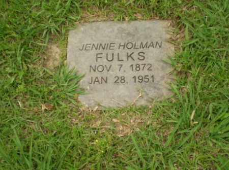 FULKS, JENNIE - Craighead County, Arkansas   JENNIE FULKS - Arkansas Gravestone Photos