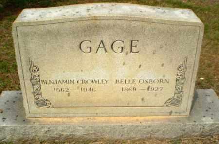GAGE, BELLE - Craighead County, Arkansas | BELLE GAGE - Arkansas Gravestone Photos