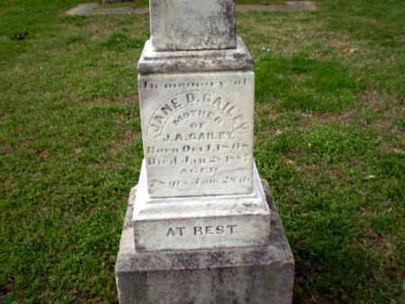 GAILEY, JANE D - Craighead County, Arkansas   JANE D GAILEY - Arkansas Gravestone Photos