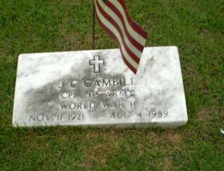GAMBILL  (VETERAN WWII), J .C. - Craighead County, Arkansas | J .C. GAMBILL  (VETERAN WWII) - Arkansas Gravestone Photos