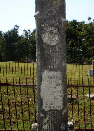 GAMBILL, JAMES AARON - Craighead County, Arkansas | JAMES AARON GAMBILL - Arkansas Gravestone Photos