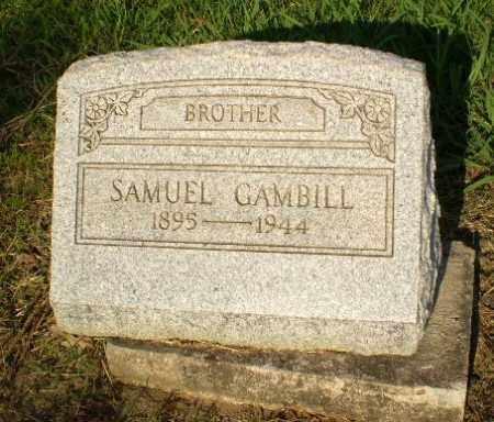 GAMBILL, SAMUEL - Craighead County, Arkansas | SAMUEL GAMBILL - Arkansas Gravestone Photos