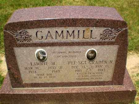GAMMILL, LAWNIE M - Craighead County, Arkansas   LAWNIE M GAMMILL - Arkansas Gravestone Photos