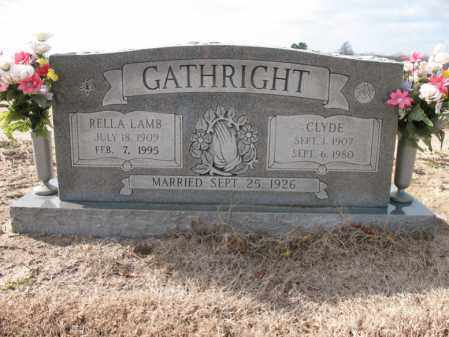 GATHRIGHT, RELLA - Craighead County, Arkansas | RELLA GATHRIGHT - Arkansas Gravestone Photos