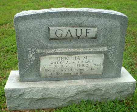 GAUF, BERTHA M - Craighead County, Arkansas | BERTHA M GAUF - Arkansas Gravestone Photos