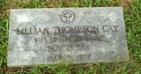 THOMPSON GAY, LILLIAN - Craighead County, Arkansas | LILLIAN THOMPSON GAY - Arkansas Gravestone Photos