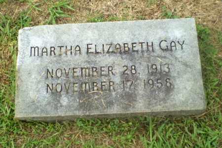 GAY, MARTHA ELIZABETH - Craighead County, Arkansas   MARTHA ELIZABETH GAY - Arkansas Gravestone Photos