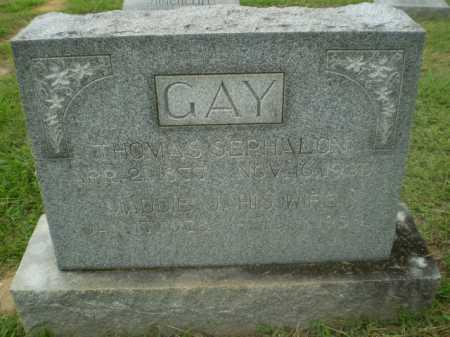 GAY, THOMAS SEPHALON - Craighead County, Arkansas   THOMAS SEPHALON GAY - Arkansas Gravestone Photos