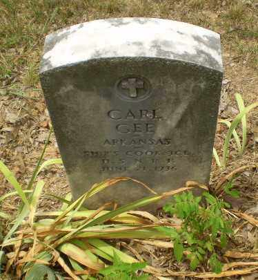 GEE  (VETERAN), CARL - Craighead County, Arkansas | CARL GEE  (VETERAN) - Arkansas Gravestone Photos