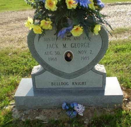 GEORGE, JACK M - Craighead County, Arkansas | JACK M GEORGE - Arkansas Gravestone Photos