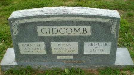 GIDCOMB, PARA LEE - Craighead County, Arkansas | PARA LEE GIDCOMB - Arkansas Gravestone Photos